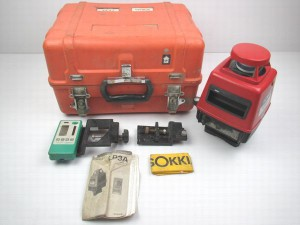 ソキア レーザーレベル LP3A クラス1 レーザー製品