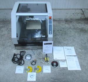 3Dプロッタ MDX-40