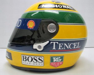 アイルトン・セナ 1993年 仕様 レプリカ ヘルメット02