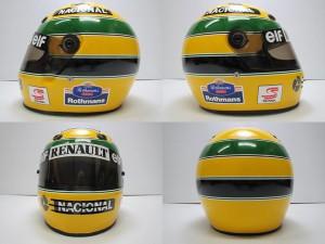 アイルトン・セナ 1994年 仕様 レプリカ ヘルメット03