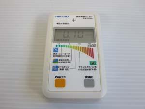 Iwatsu 放射線量モニター γ線モニター 販売