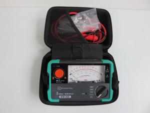 共立電気計器  電池式3レンジ 小型絶縁抵抗計 販売