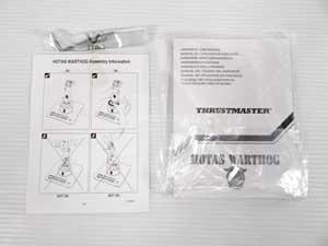 ストラスマスター thrust master hotas warthog 販売