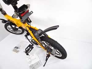 glafit グラフィットバイク 折りたたみハイブリッドバイク ミカンオレンジ 販売