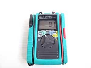 共立電気計器 AC/DCクランプ付デジタルマルチメーター MODEL2000 販売