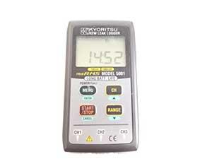 共立電気計器 漏れ電流測定&記録用リークロガー MODEL5001 販売