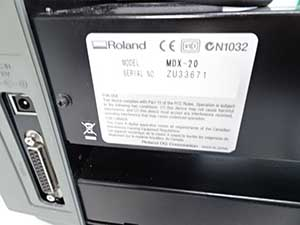 ローランド モデラ Roland MODELA. MDX-20 3D加工機 販売
